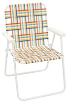 Webstrap Folding Beach Chair - Red/Yellow/Blue