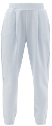 MAX MARA LEISURE Bric Track Pants - Light Blue