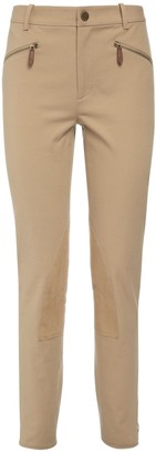 Ralph Lauren Collection Stretch Cotton Twill Leggings