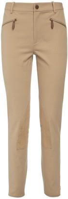 Ralph Lauren Collection Stretch Cotton Twill Leggings