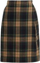 Vivienne Westwood Elisa tartan wool-blend skirt