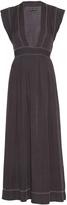 Isabel Marant Mick beaded silk-georgette maxi dress