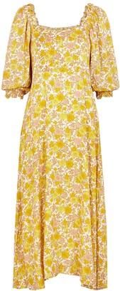 Faithfull The Brand Bronte floral-print midi dress
