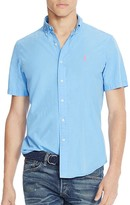 Polo Ralph Lauren Cotton Silk Regular Fit Button-Down Shirt - 100% Bloomingdale's Exclusive