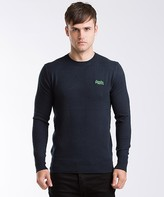 Superdry Orange Label Crew Neck Knit