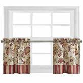 Asstd National Brand Bijoux Soiree Rod-Pocket Window Tiers
