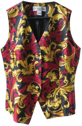 Christian Dior Black Silk Knitwear for Women Vintage