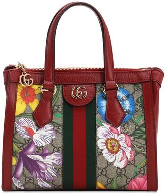 Gucci Flora Gg Supreme Mini Top Handle Bag