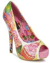 Iron Fist SWEETS FOR MY SWEET PEEP TOE PLATFORM Multi