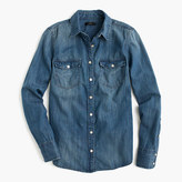 J.Crew Western chambray shirt