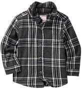 Joe Fresh Flannel Shirt (Baby Boys)
