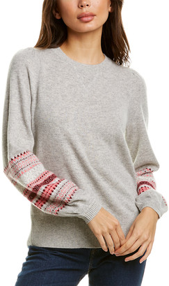 Design History Jacquard Cashmere Sweater