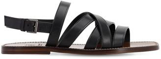 Silvano Sassetti 15mm Intreccio Leather Sandals