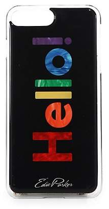 Edie Parker Women's Hello iPhone 7 Goo. ey Case