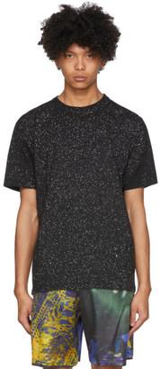 Ottolinger Black and Grey Sprinkle Basic T-Shirt