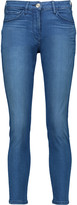 3x1 W2.5 Crop pencil mid-rise skinny jeans