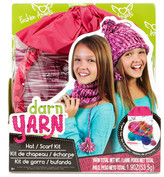 Fashion Angels Darn Yarn Hybrid Hat & Scarf Kit