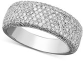 Effy Trio by Diamond Diamond Pave Ring (1 ct. t.w.) in 14k White, Yellow or Rose Gold