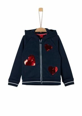 S'Oliver Girls' 53.909.43.5094 Track Jacket
