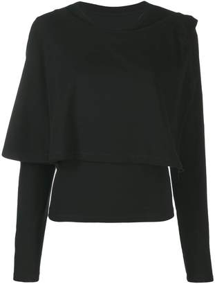 MM6 MAISON MARGIELA layered long sleeved top