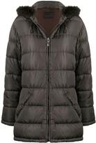 Prada Pre Owned 1990s hooded puffer coat