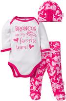 Gerber Denver Broncos Pink Footie Pants Set - Infant