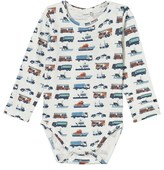 Hust&Claire Babygrow With Print Ivory
