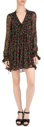 The Kooples Rosa Rosa Floral-Print Mini Dress