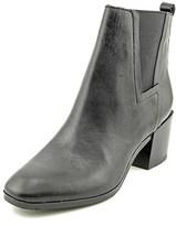 Pour La Victoire Fara Round Toe Leather Ankle Boot.