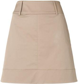 Paule Ka Gabardine Mini Skirt