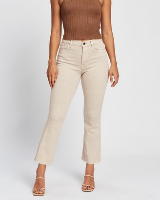 Mng Women's Neutrals Crop - Sienna Jeans - Size 32 at The Iconic
