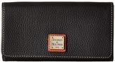 Dooney & Bourke Pebble Leather Daphne Crossbody Wallet Wallet Handbags