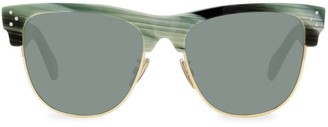 Celine 56MM Iconic Round Sunglasses