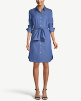 Chico's Chicos Denim Tie-Waist Dress