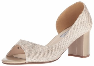 Touch Ups Women's Joy Pump Champagne Shimmer 11 M US