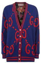 Gucci Logo Knit Cardigan