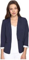 Kensie Heather Stretch Crepe Blazer KS2K2S54 Women's Jacket