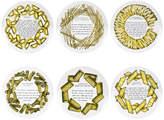Fornasetti Ricette Pasta Plates - Set of 6
