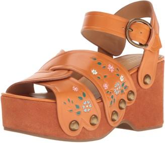 Marc Jacobs Women's Wildflower Wedge Sandal
