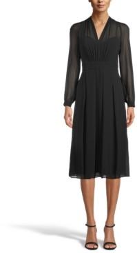 Anne Klein Illusion Midi Dress