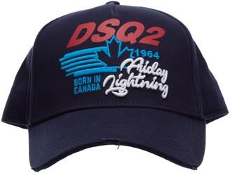 DSQUARED2 Embroidered Logo Baseball Cap