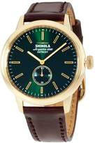 Shinola The Bedrock Dial Leather Strap Men's Watch 20058982