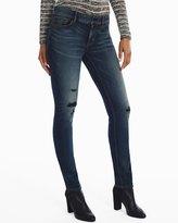 White House Black Market Distressed Slim Jeans