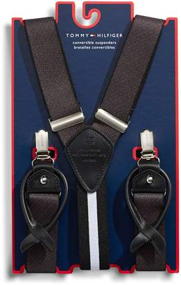 Tommy Hilfiger Printed Convertible Suspenders
