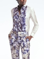 Banana Republic Piece & Co. Dillon-Fit Sun-Dyed Silk Shirt