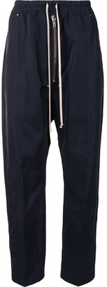Rick Owens Drop-Crotch Relaxed-Fit Trousers
