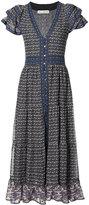 Ulla Johnson button-front midi dress - women - Silk - 6