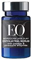 EO Ageless Skin Care Moroccan Lava Clay Exfoliating Scrub with Papaya & Pineapple Enzymes