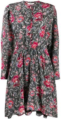 Etoile Isabel Marant Yandra floral print dress