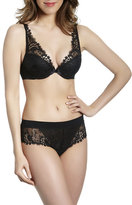 Simone Perele Wish Triangle Contour Bra, Black
